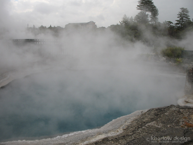 Whakarewarewa Thermal Village, New Zealand