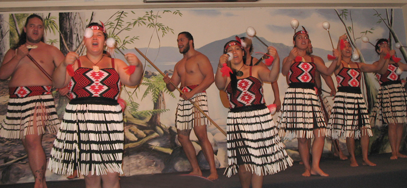 Maori Cultural Night, New Zealand