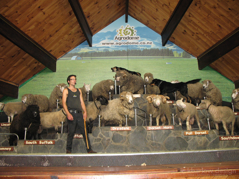 Agrodome, New Zealand