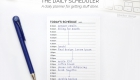 The Daily Scheduler - Productivity Planners | kbarlowdesign.com