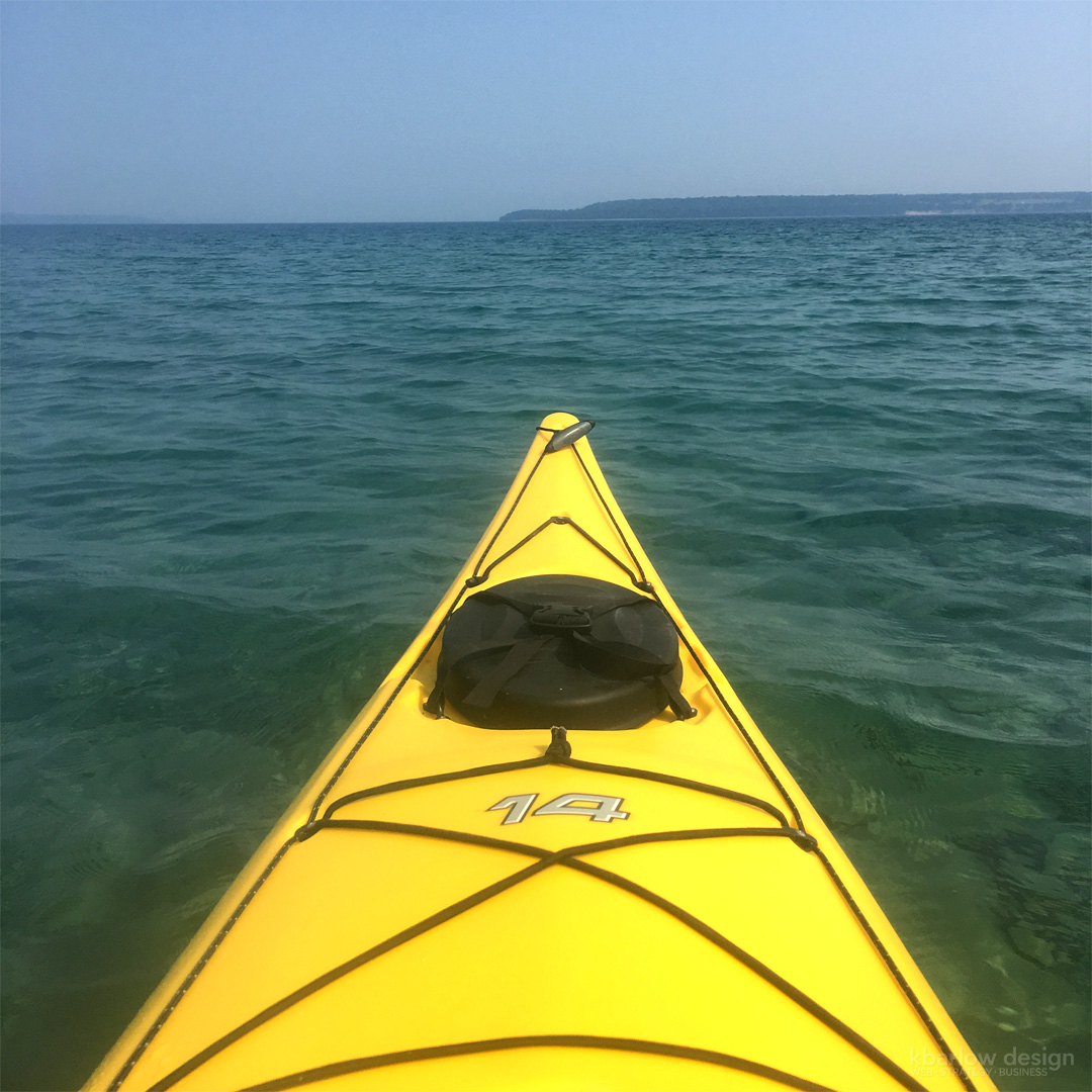 Georgian Bay Kayaking | kbarlowdesign.com blog