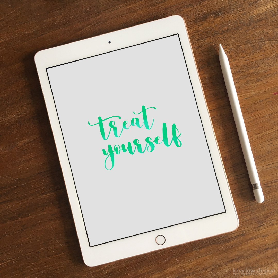 iPad Apple Pencil | kbarlowdesign.com blog