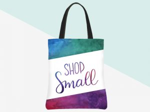 kbarlow design totes: shop small